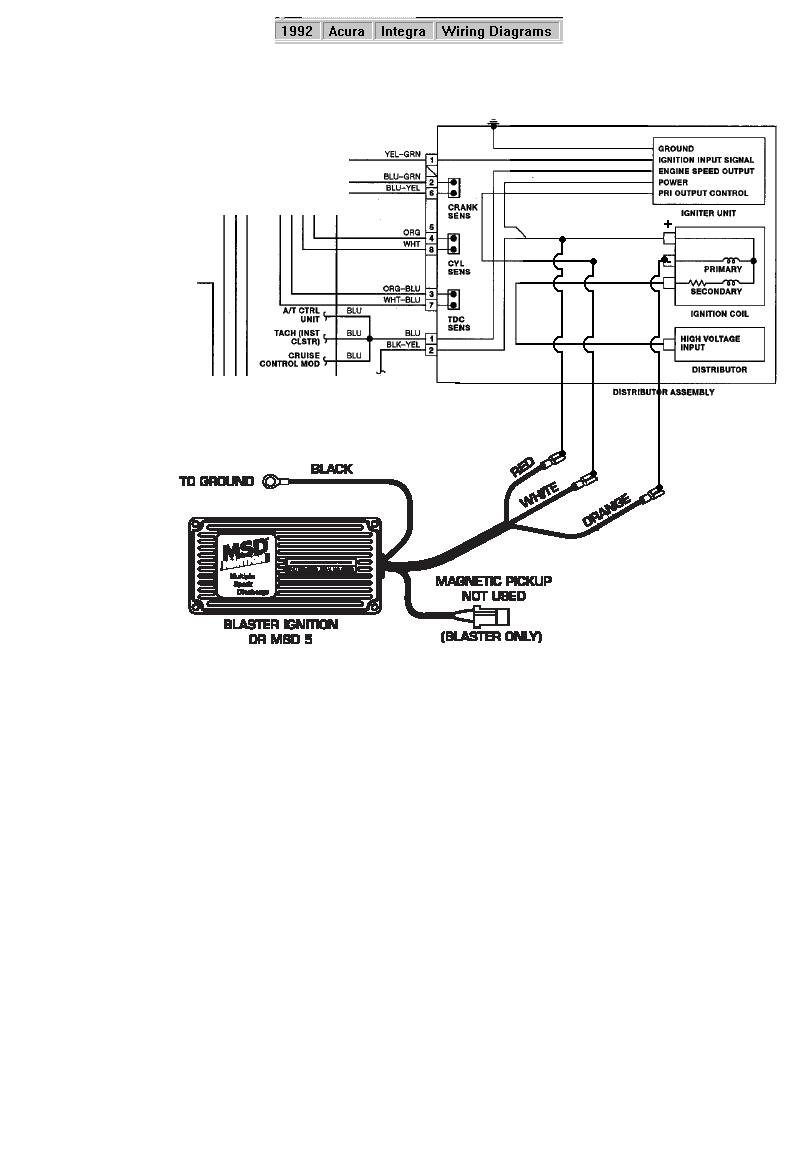 Mallory Ignition Distributor Wiring Diagram Mallory High