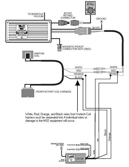 Msd 6al Wiring Diagram Chevy V8 MSD 85551 Advance Kit