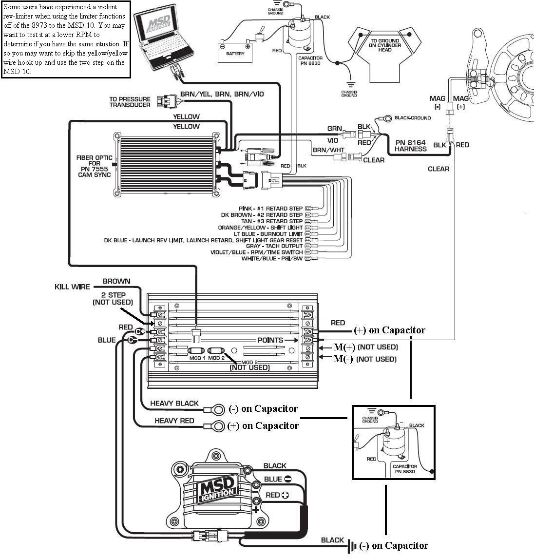 msd 6al 2 wiring diagram for a trailer plug 8973 to 10 blog