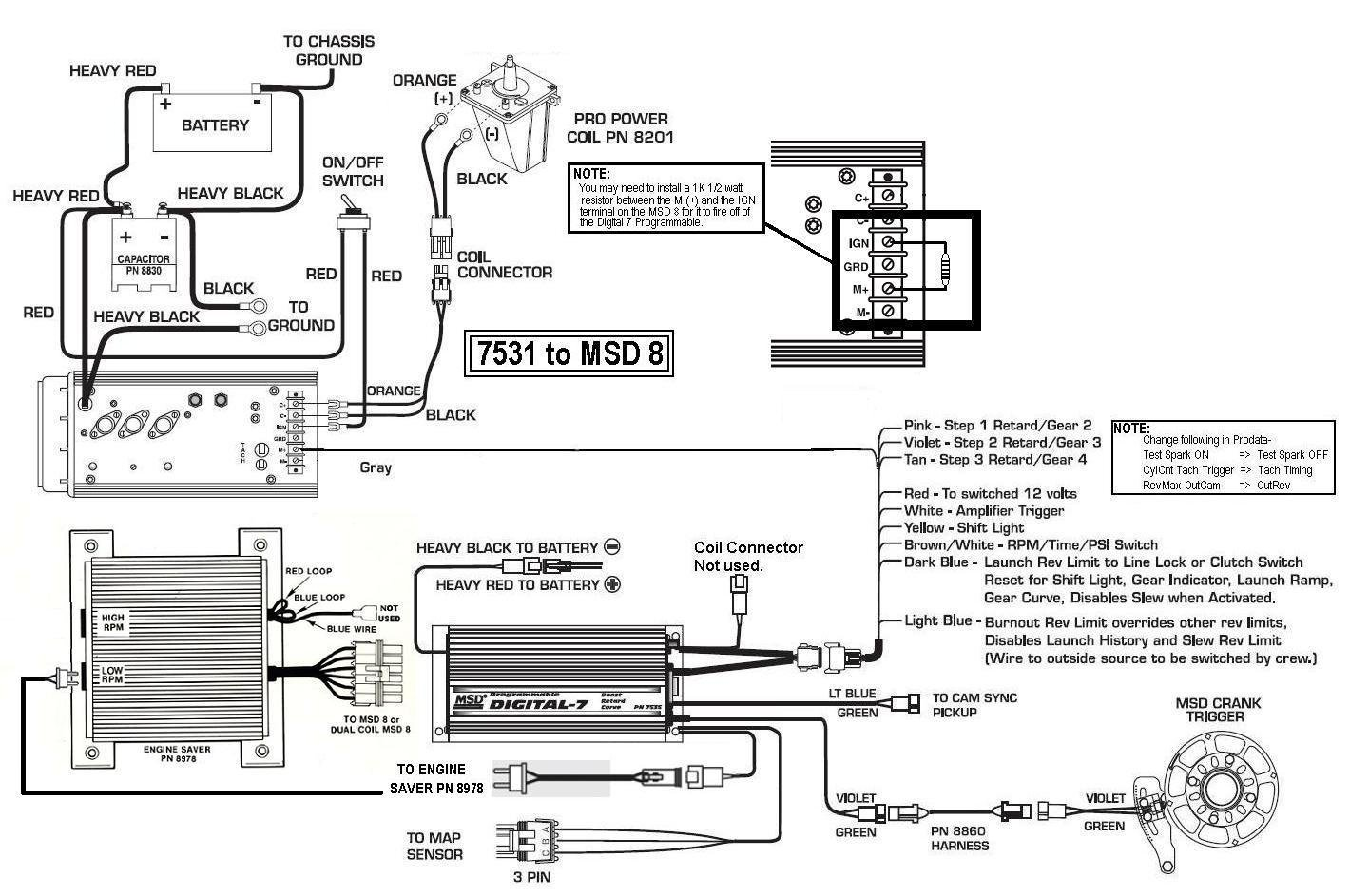 msd 6al wiring diagram lt1 2007 honda civic aftermarket radio diagrams 7531  powerking co