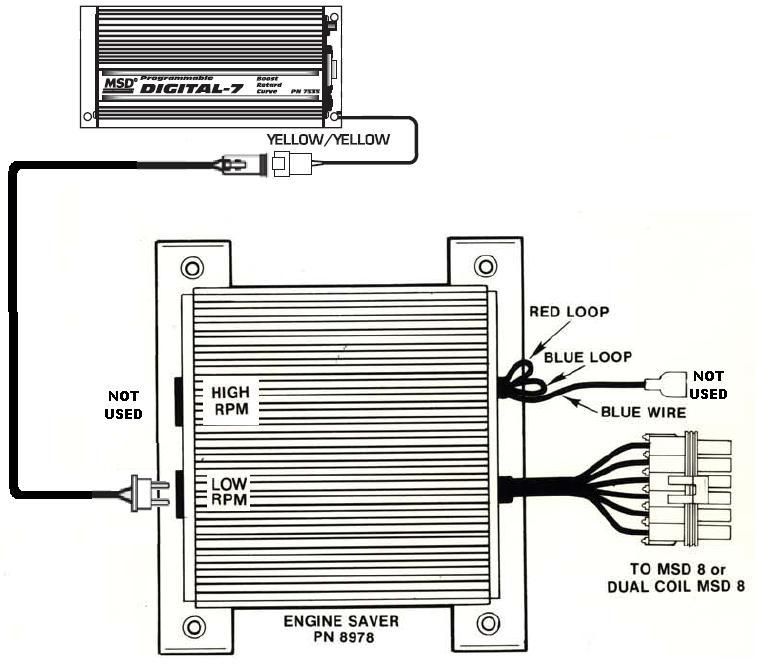 Msd 7531 Digital Wiring Diagram MSD 6AL 6420 Wiring