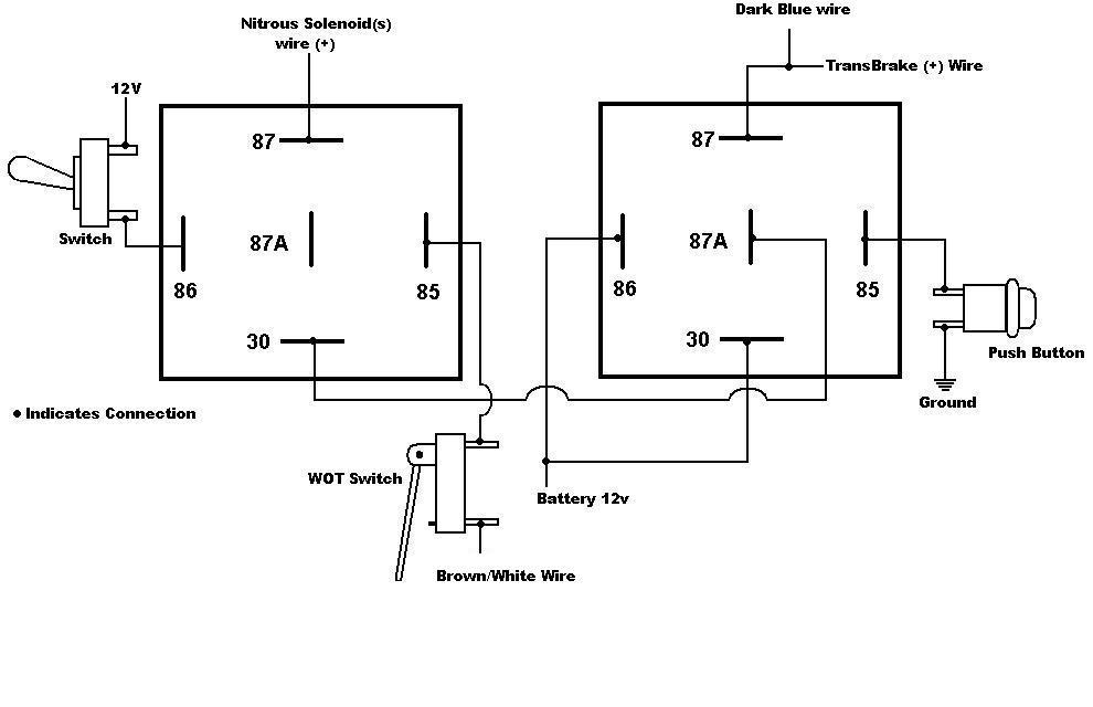 nitrous wiring diagram with transbrake 2004 silverado radio 2 step latching relay 7531 - msd blog