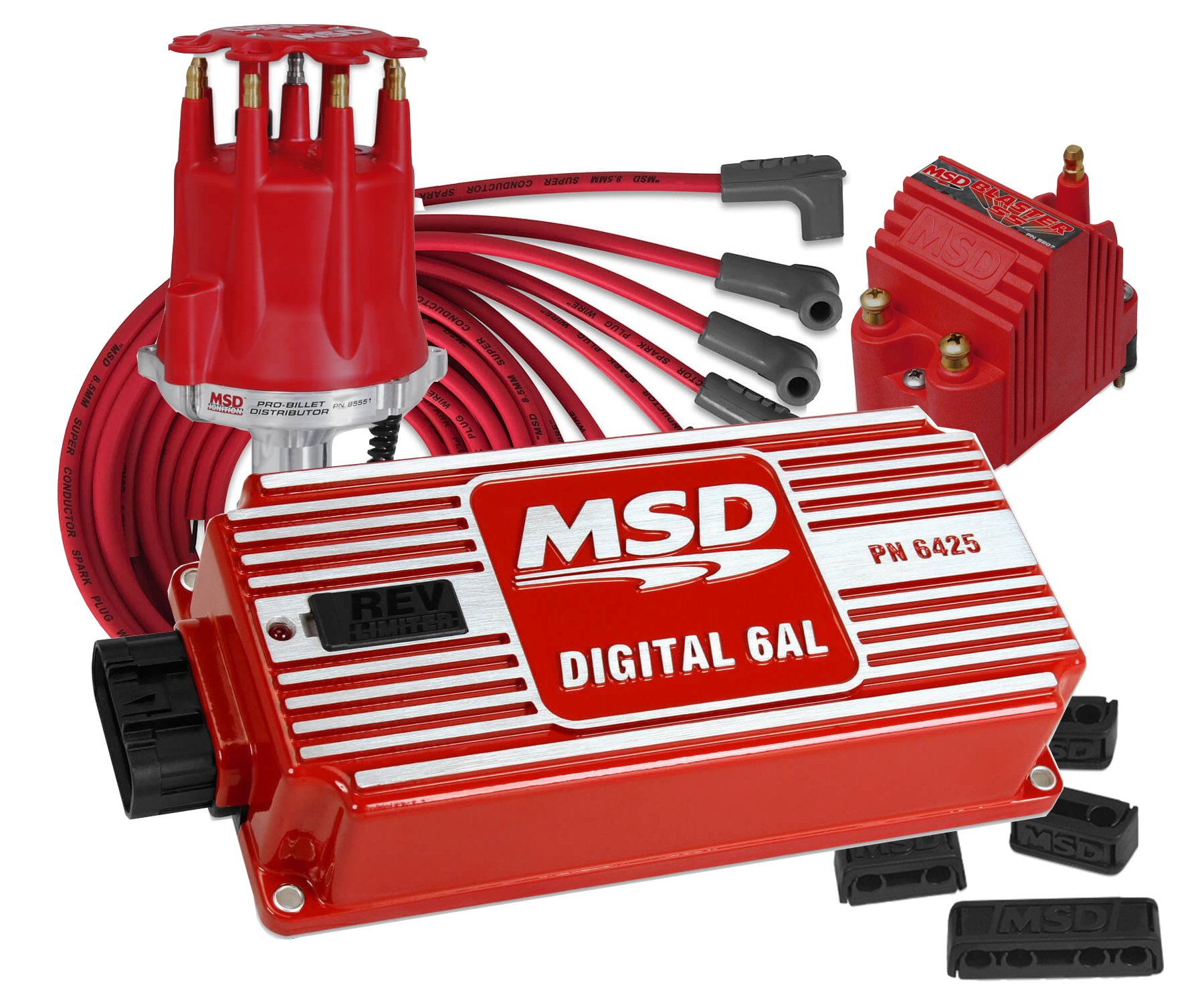 Msd Vk6alsskit Complete Small Block Chevy Street Strip