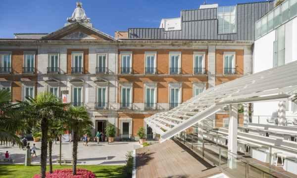 The Artes and Paseo Del Prado Madrid