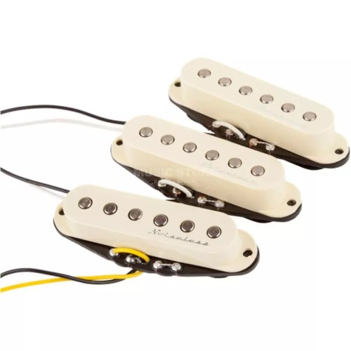 small resolution of fender hot noiseless strat pick ups aged white product image