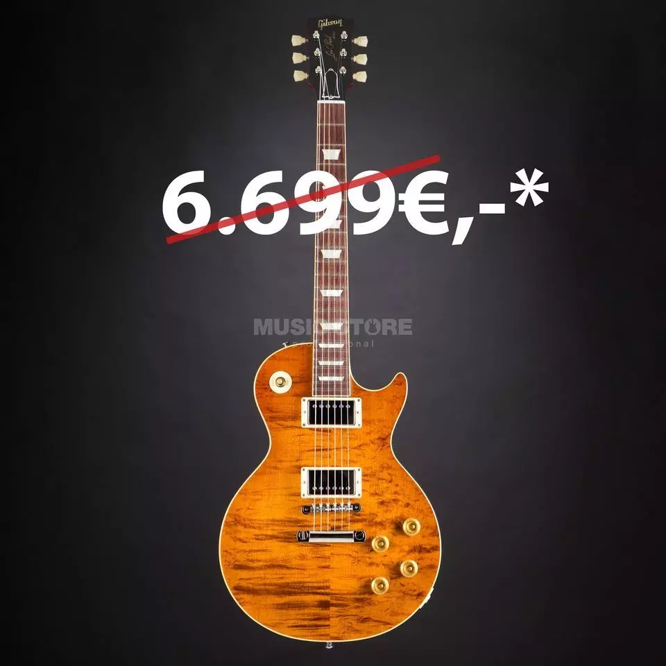hight resolution of gibson les paul standard rock top fossilized flame limited edition 971123