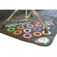 Protection Racket Marker for Drum Rug, multi colour