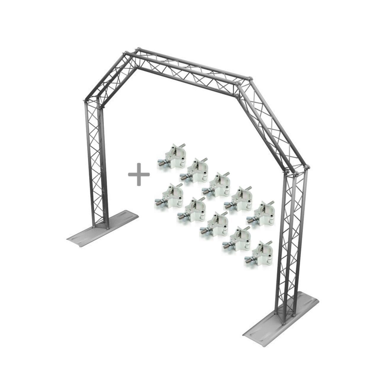 Lightmaxx Mobile Dj Truss Gate