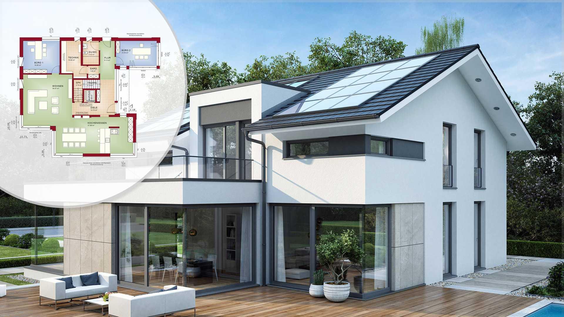 Kosten Architektenhaus. Modernes Architektenhaus In Frankfurt