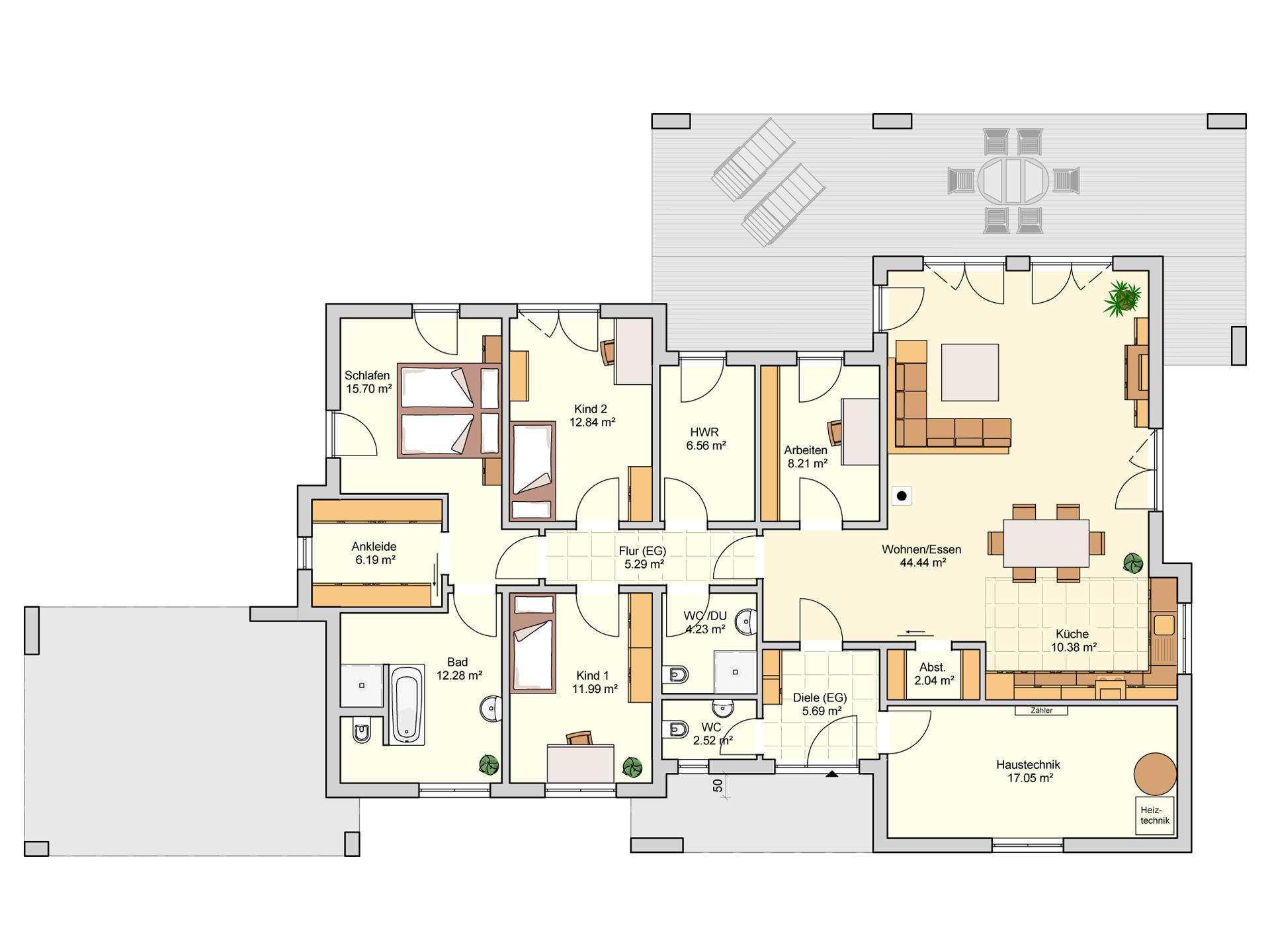 Barrierefreies Haus Bauen - Beispielhäuser ✓ Förderungen ✓