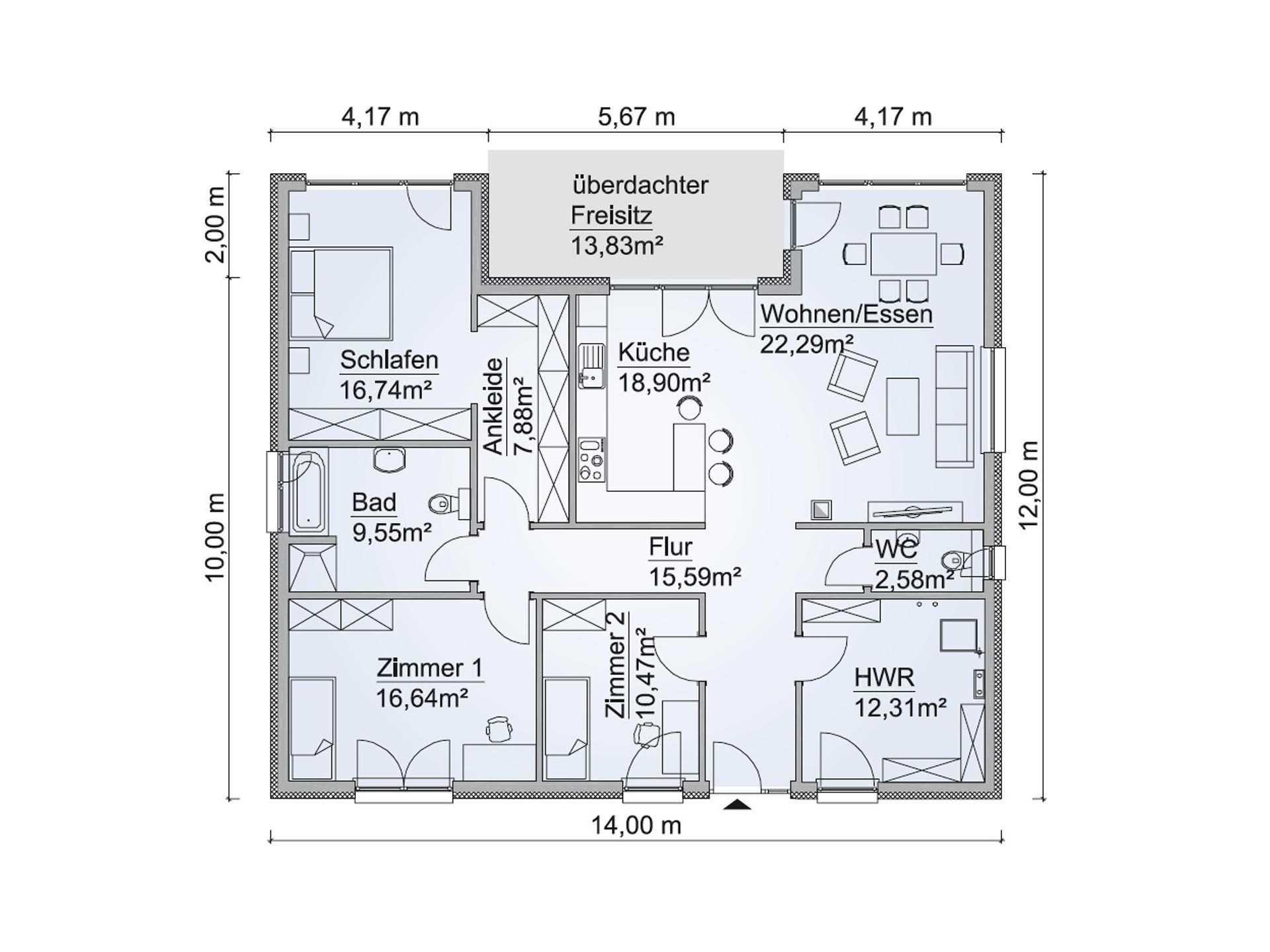Modernen Bungalow Auf Musterhaus.Net Entdecken