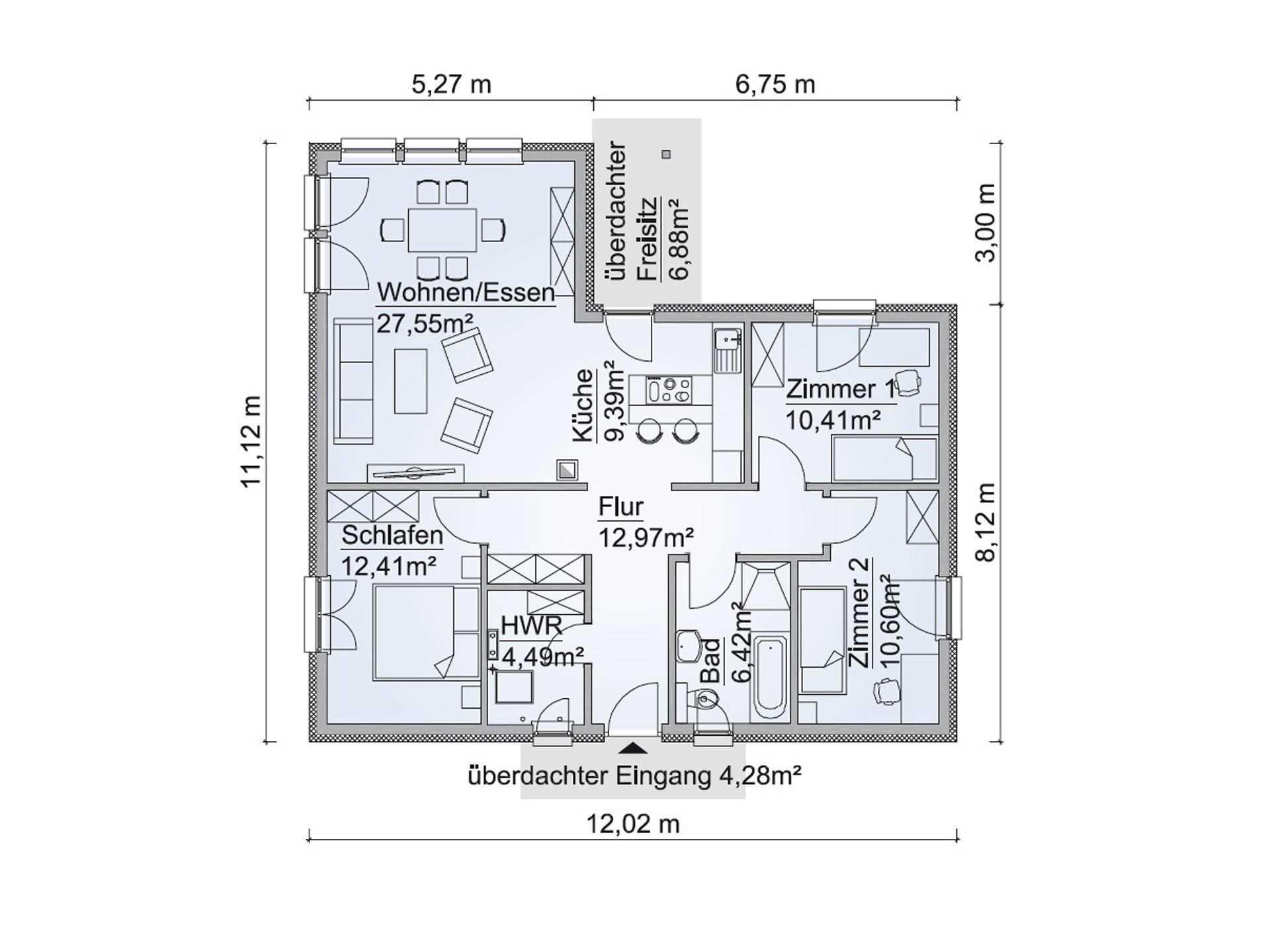 Grundriss Kleines Haus Grundrisse Hauscompagnie