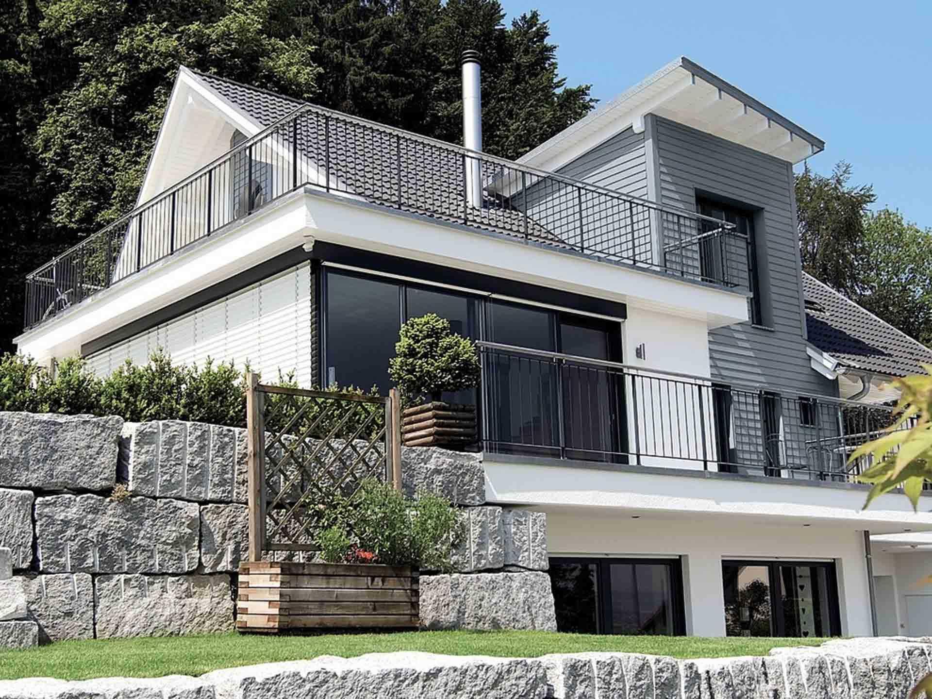 Einfamilienhaus mit Hanglage  WeberHaus  Musterhausnet