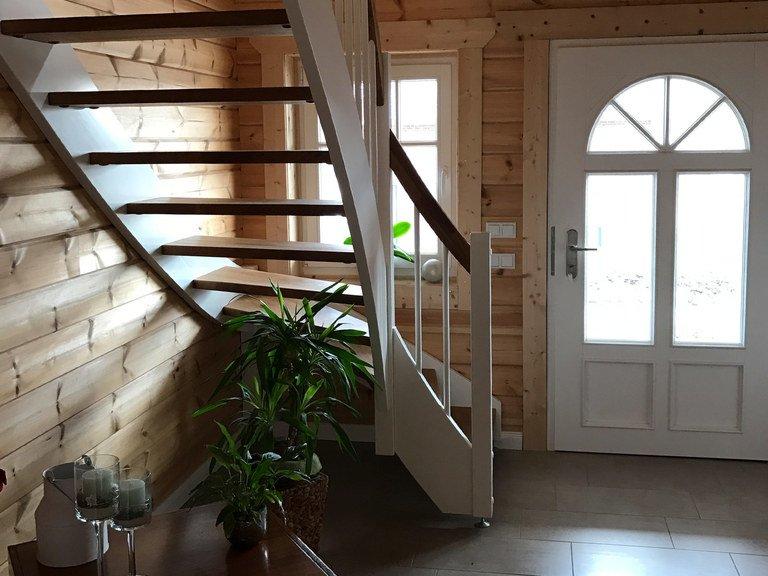 Musterhaus Langenberg  Nordic Haus Blockhuser  Musterhausnet