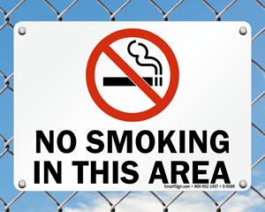 do not smoke in