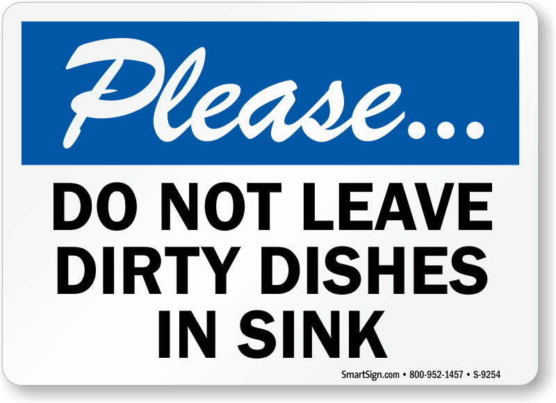 kitchen signs for work metal top table courtesy at best price zoom buy