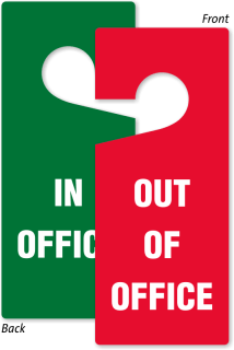 of office signs