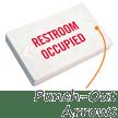 german bathroom door signs Bathroom Occupied Signs