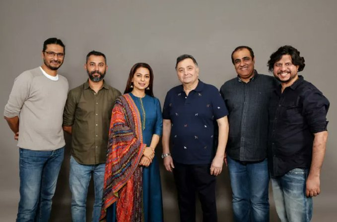 Rishi Kapoor's Next Film Is Called 'Sharmaji Namkeen' & Here's All We Know  About It - GoodTimes: Lifestyle, Food, Travel, Fashion, Weddings,  Bollywood, Tech, Videos & Photos
