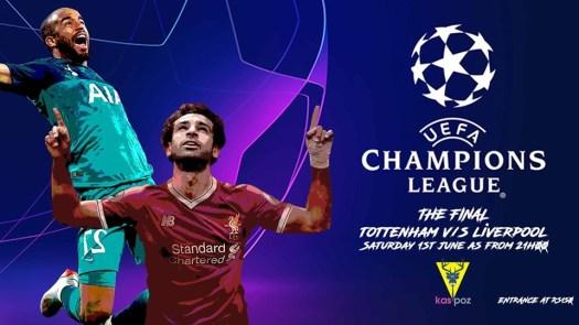 Champions League Final // Tottenham vs Liverpool // Kas ...
