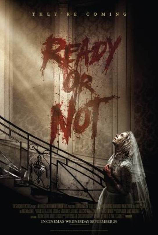 Image result for ready or not 2019 poster uk