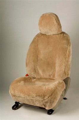 Airplane Sheepskin Seat Covers Front Seats