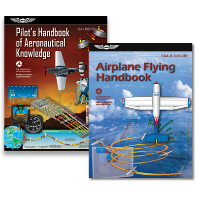 Pilots Handbook of Aeronautical Knowledge / Airplane Flying Handbook Combo - MyPilotStore.com