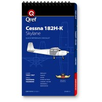 Cessna 182H-K Checklist Qref Book - MyPilotStore.com