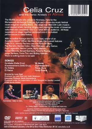myReviewercom JPEG Back Cover of Celia Cruz And The