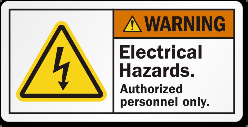 electrical panel hazards wiring diagram ford f650 hazard labels warning