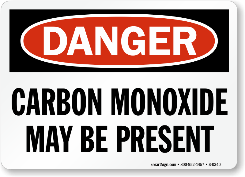 Carbon Monoxide Warning Signs