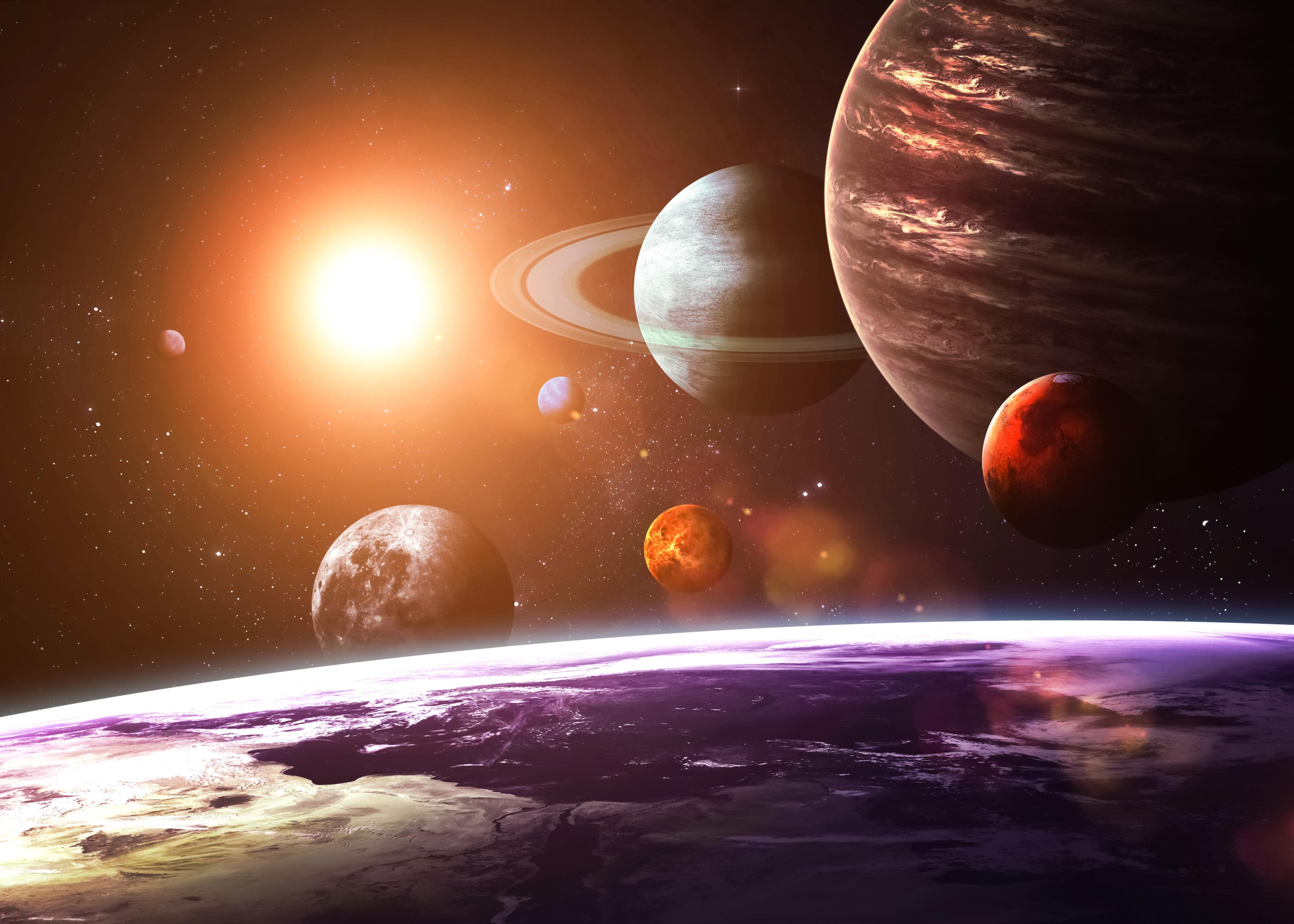 Worksheet The Solar System