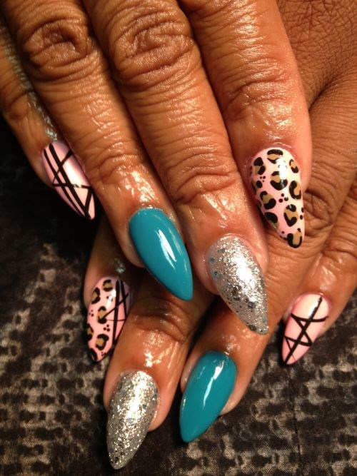 Sabrina Watts Golden Lady Nail Cleveland