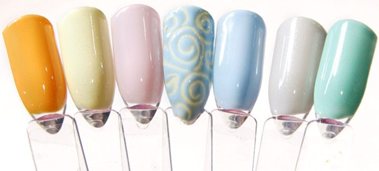 Artistic Nail Design Has Six New Colors To Add Their Collection Of Colour Gloss Soak Off Gel Polish The What Kind Woman Are You