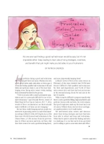 The Frustrated Salon Owner S Guide To Hiring Business Nails