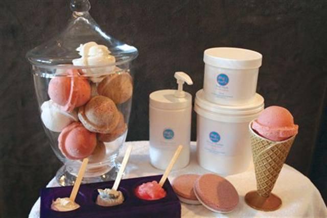 Ice Cream Sundae Pedicure  Technique  NAILS Magazine
