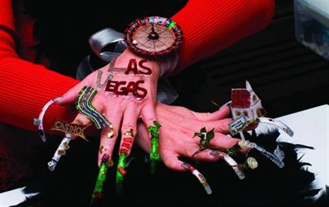 The Theme Was Las Vegas At 7th International Nail Art Chionship In Warsaw Poland Peion Is Part Of Care Forum And