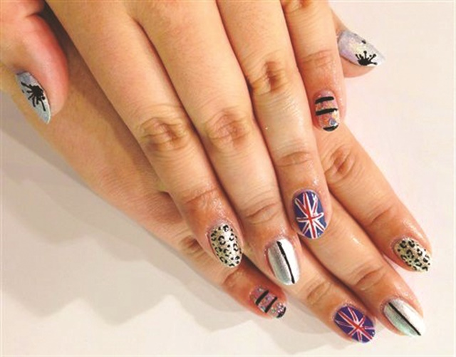 Wah Nails Is Known For Its Bold Nail Art Designs Such As The Variety Shown Here By Artist Chiizii