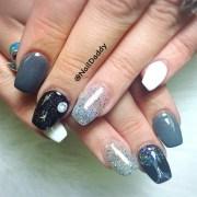 day 77 hard & soft nail art