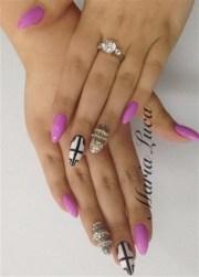 day 111 spring break nail art