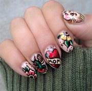 tattoo nail art trends - nails