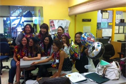 New Graduates At Honolulu Nail Academy Celebrate Pletion Of The Tech Program