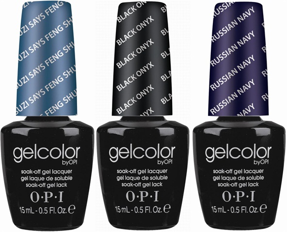 Prep The Nails And Apply Opi Gelcolor Base Coat Cure