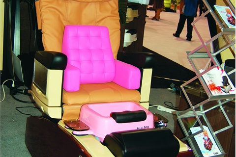 child pedicure chair high table and chairs trend kid s pedi style nails magazine children make it easier to pamper the kiddies
