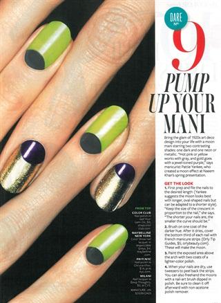 Nail Art Deco  Style  NAILS Magazine