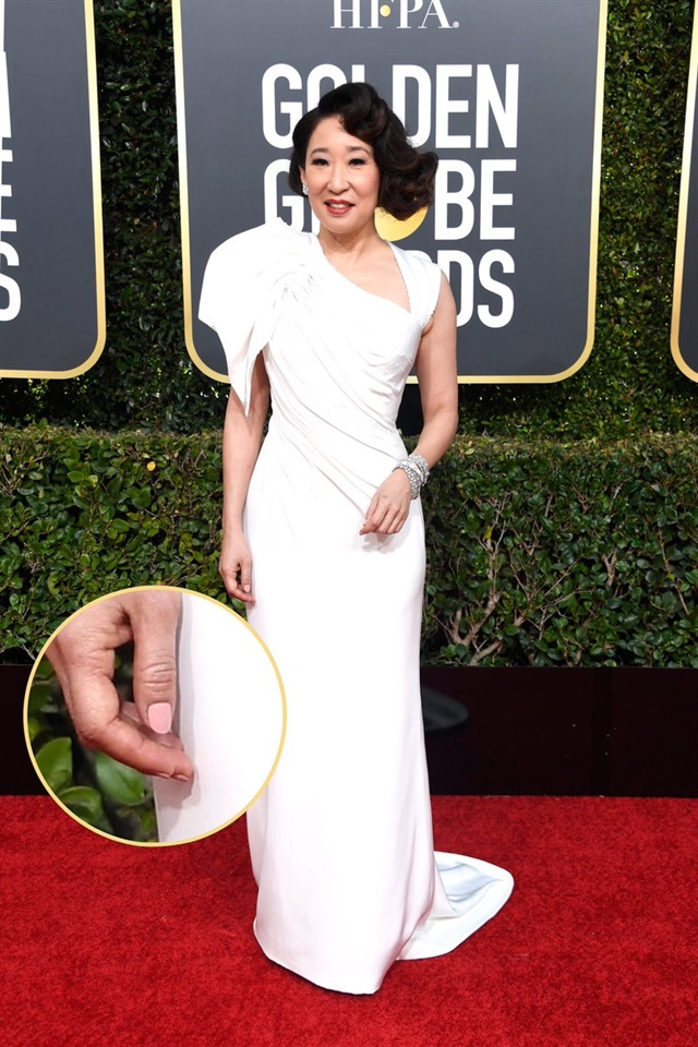 Nail Looks From the 2019 Golden Globes  Style  NAILS Magazine