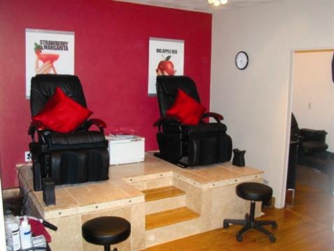 Gel Essentialz in Michael K Galvin Salon  Business