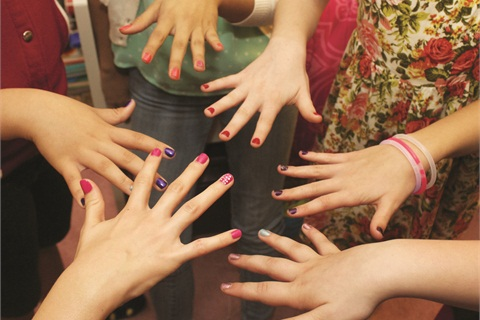 Teen Girls Love Polish Best  Style  NAILS Magazine