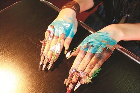 Nail Art Western Herie Clic