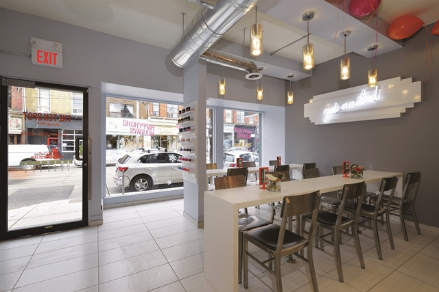 The Salon S Nail Services Are Done In An Open Environment To Make It Easier For Clients Talk Each Other Or Their Tech